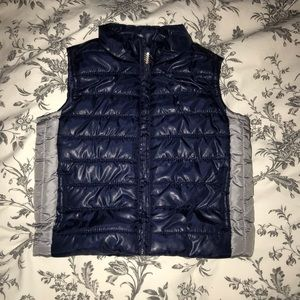 Gymboree toddler boys puffer vest size 12-24